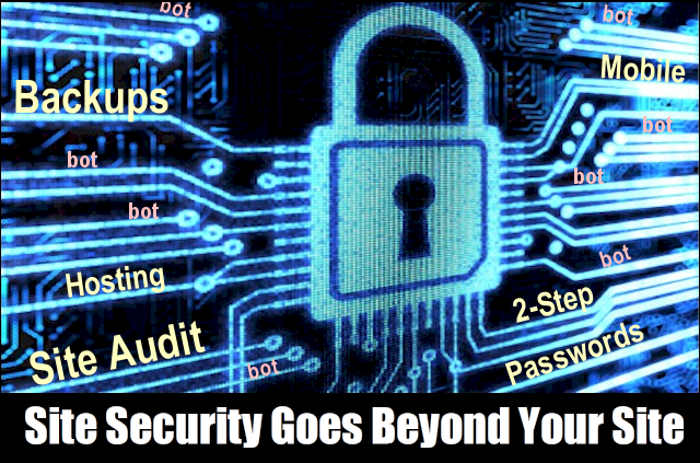 Site Security Goes Beyond Your Site