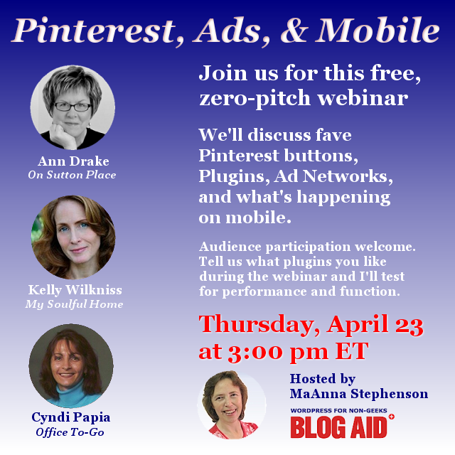 Pinterest, Ads, and Mobile Webinar