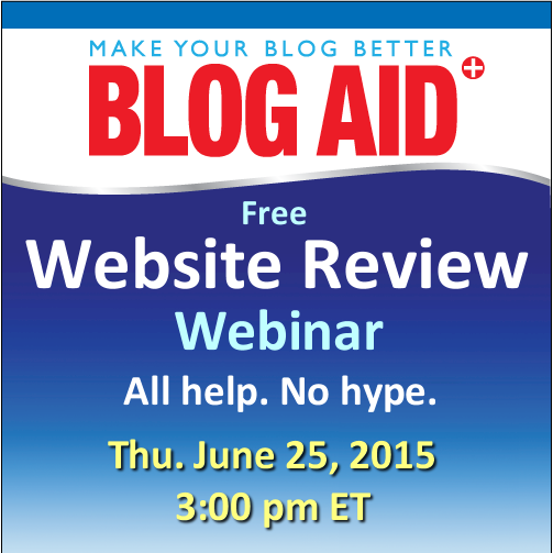 Website Review Webinar 150625