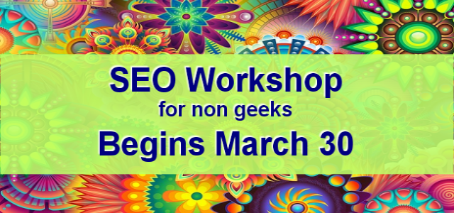 SEO Workshop March 2017