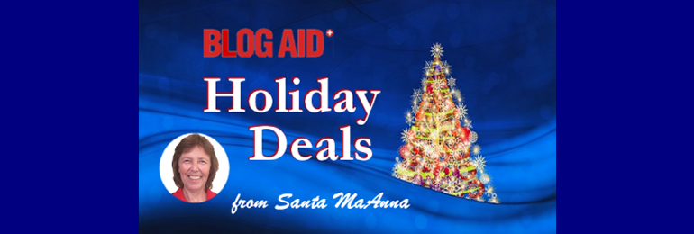 BlogAid Holiday Deals