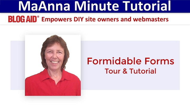 Formidable Forms Getting Started Tutorial