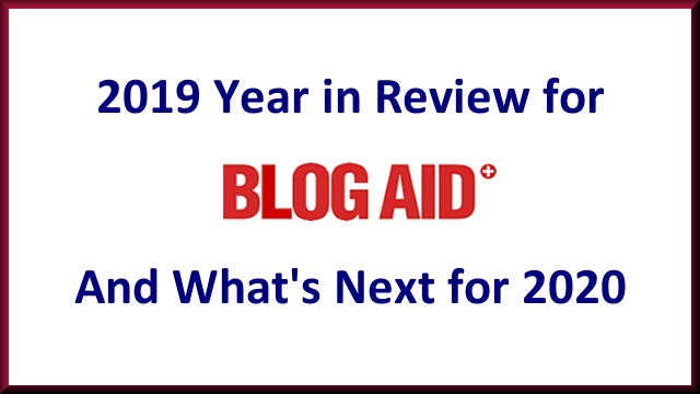2019 Year in Review for BlogAid and What's Next for 2020