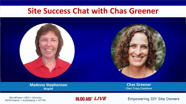 Site Success Chat with Chas Greener